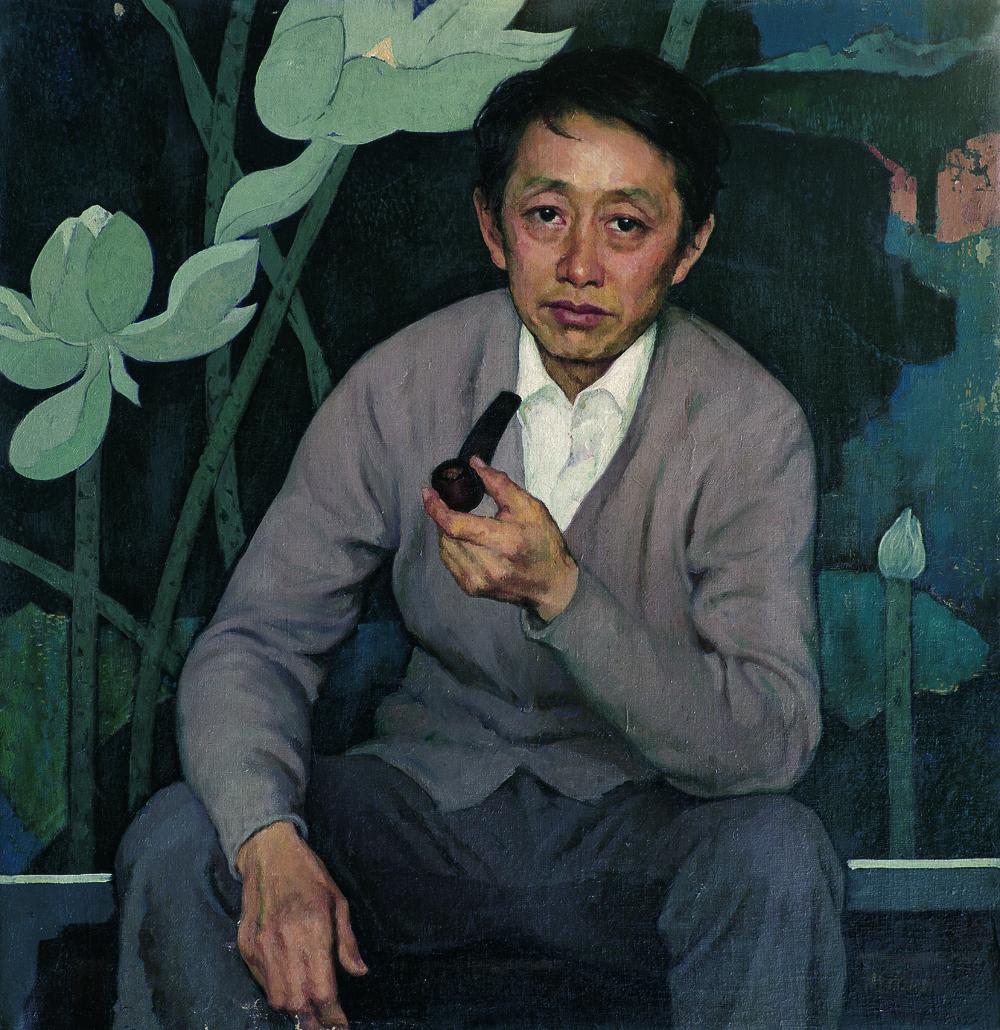 1981年80cm x 80cm画家黄永玉.jpg